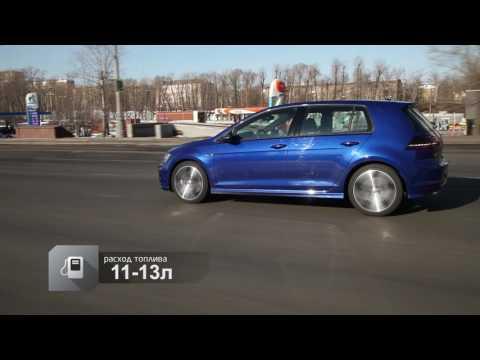 Volkswagen Golf R Хетчбек класса C - тест-драйв 1