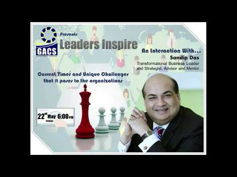 Leaders Inspire Series - An Interaction with Sandip Das
