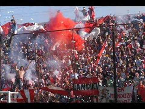 """""""aguante chaca"""" Barra: Los Leones del Este • Club: San Martín de Mendoza"""