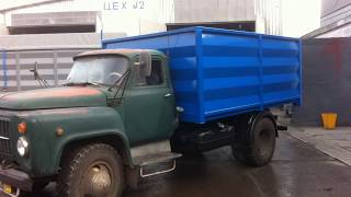 Бортовые кузова для грузовых авто и прицепов от компании Криворожский Завод Автомобильных Надстроек - видео