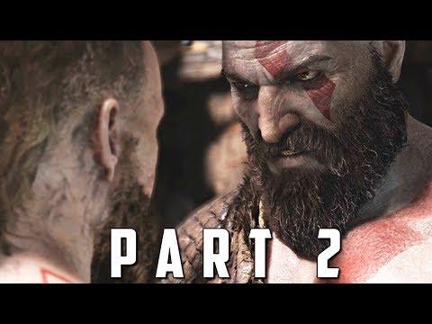 GOD OF WAR Walkthrough Gameplay Part 2 - THE STRANGER (God of War 4)