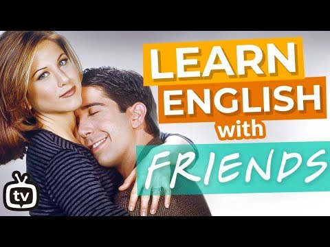The Best Of Ross And Rachel | Learn English with Friends
