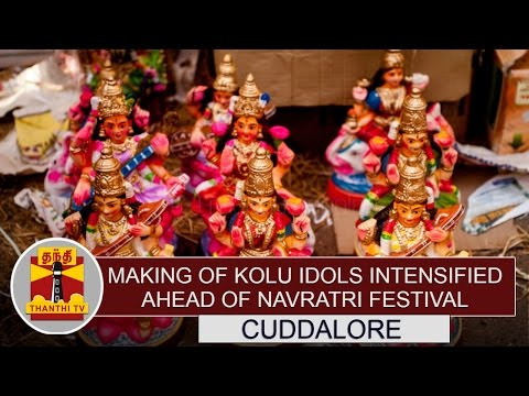 Special-News-Making-of-Kolu-Idols-intensified-ahead-of-Navratri-Festival-Thanthi-TV