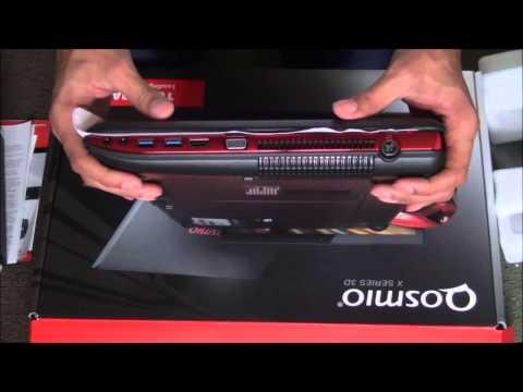 Toshiba Qosmio X875-Q7390 Unboxing