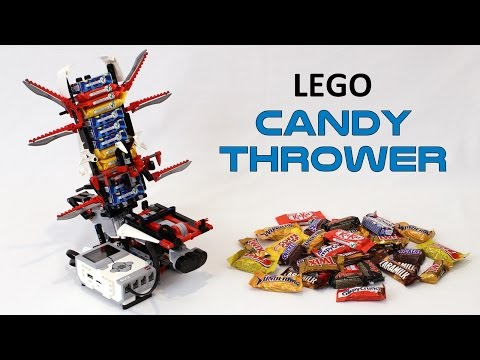 Candy-Flinging Lego Bot Deals With Trick-or-Treaters For You