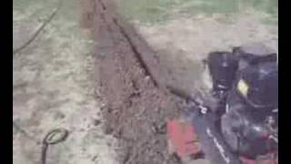 Tips On Digging With a Walk-behind Ditch Witch