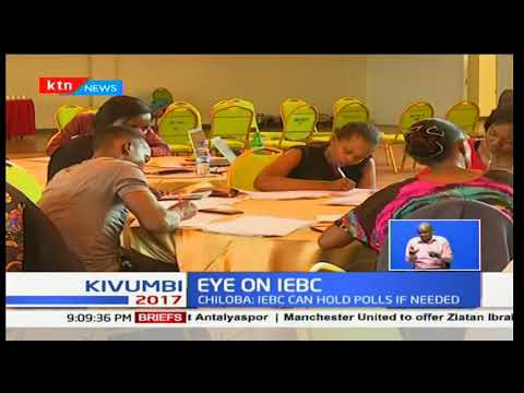 Eyes on IEBC : Ezra Chiloba say IEBC can handle polls if needed