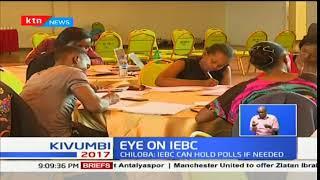 Eyes on IEBC : Ezra Chiloba say IEBC can handle polls if needed