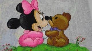 Pintura em tecido – Minnie baby