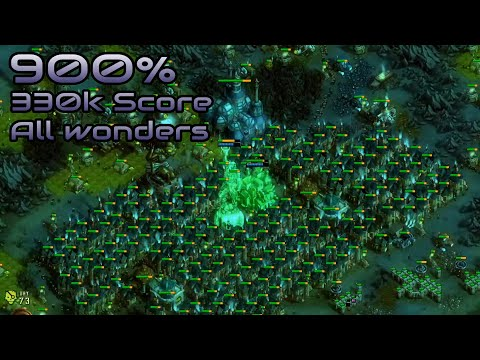 They are Billions - 900% No Pause - 330k Score/All wonders