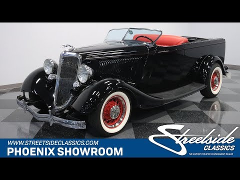 Video of '34 Roadster - OA7J