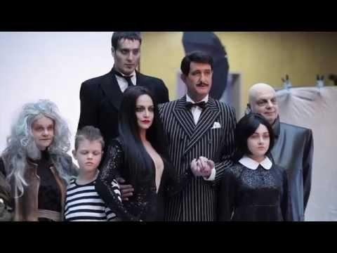 The Addams Family - focení vizuálu