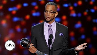 Stuart Scott's 2014 Jimmy V Award Acceptance Speech | The ESPYS | ESPN Archive