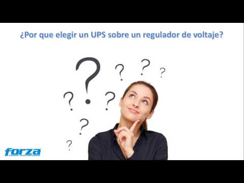 FORZA - UPS y Regulación. Series NT y FVR
