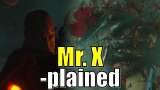 Mr X Explained | The T 103 and T-00 | Resident Evil 2 Remake | Tyrant Project Origin, History, Lore