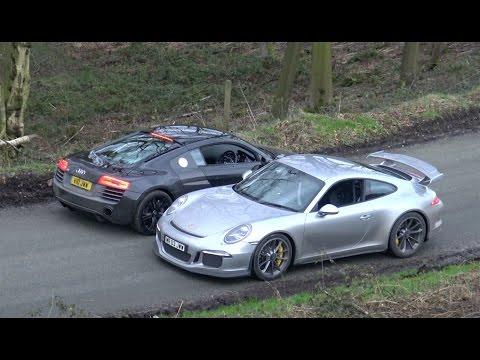 991 GT3 VS R8 V10 Plus