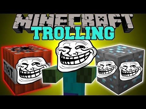 Minecraft: TROLLING (TROLL TNT, ORES, BLOCKS, & MORE!) Mod Showcase