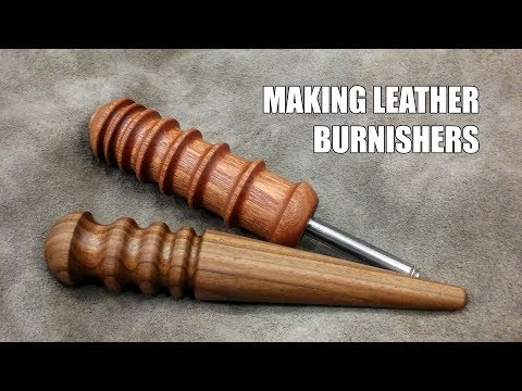Making Leatherworking Tools: Two Burnishers
