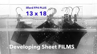 HOW TO: Develop Sheet Films in Trays