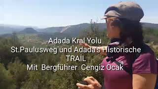 preview picture of video 'ADADA -KRAL YOLU /DAĞ REHBERİ ST.PAULUSWEG -ADADA TRAİL OFFIZİEL BERGFÜHRER'