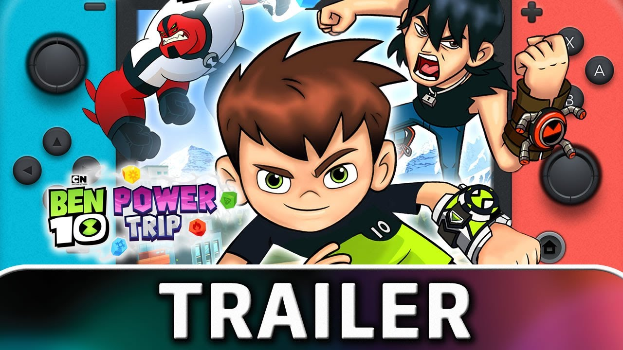 Ben 10 Power Trip | Nintendo Switch TRAILER and SCREENSHOTS