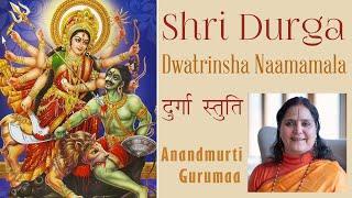 Shri Durga Dwatrinsha Naamamala Stotra| Durga Stuti