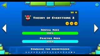 """Geometry dash"" level 18 - Theory of Everything 2 (100%)"