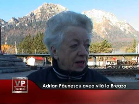 Adrian Păunescu avea vilă la Breaza