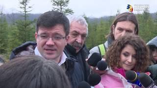 Alexe: Peste 50 de milioane de puieţi vor fi plantaţi în cadrul campaniei ''Românii plantează: O pădure cât o ţară!''