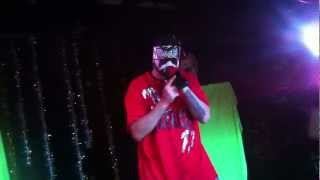 ABK - Close Call, Super Killa Fragalistic, Gimme Ah Beat, Hey Yall & Gang Related live 12/31/2012