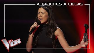 Pilar Bogado - La mudanza   Blind auditions   The Voice Antena 3 2020
