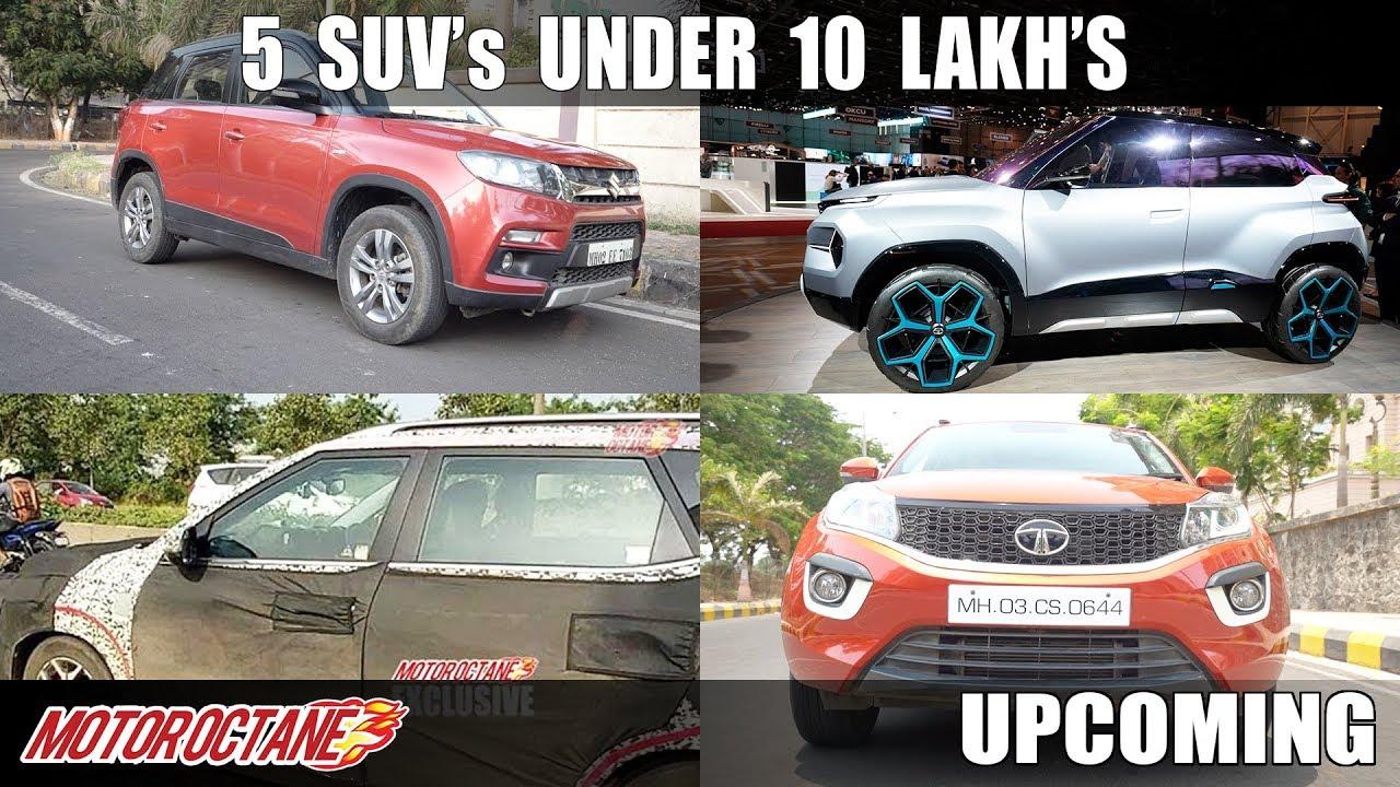 Motoroctane Youtube Video - 5 SUV's Under 10 Lakhs | Auto Expo - Feb 2020 | Upcoming | MotorOctane