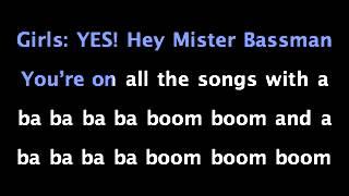 Mr Bassman   Boys
