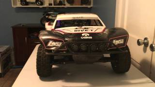 Losi 5ive t with turnigy on/off switch with sr3300t
