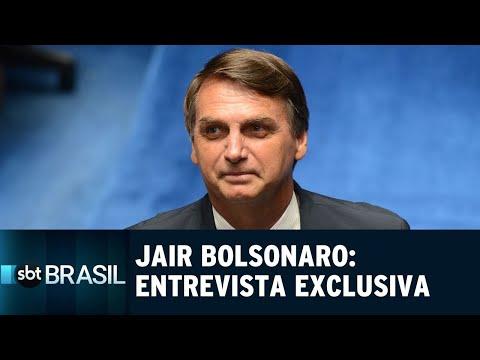 Jair Bolsonaro fala sobre polêmicas em entrevista exclusiva ao SBT