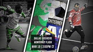 Dallas Sidekicks vs Monterrey Flash