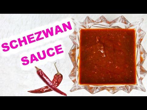 Momos Chutney Recipe Schezwan Sauce | CookwithNisha