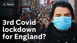 UK PM refuses to rule out third Covid lockdown in England after Christmas