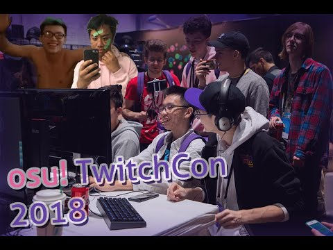 osu! Twitchcon Vlog 2018 - RyuK