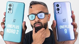 OnePlus Nord 2 5G vs OnePlus 9 - How different are they?