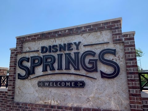 Disney Springs 2019 4K Full Complete Walkthrough Tour | Walt Disney World Orlando Florida