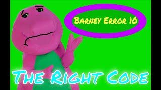 Barney Error 10