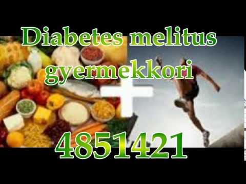 Diabetes mellitus körmök videóval