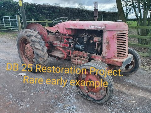 David Brown 25 Restoration Project Part 1