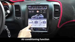 How to install and upgrade the 10.4 inch Vertical Screen Bluetooth Mirror Link AC Radio for KIA K3 - dooclip.me