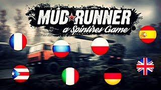 Spintires: MudRunner - Change Language - Steam & Crack Version!