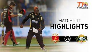 Match 11, Rajputs vs Kerala Knights, T10 League Season 2