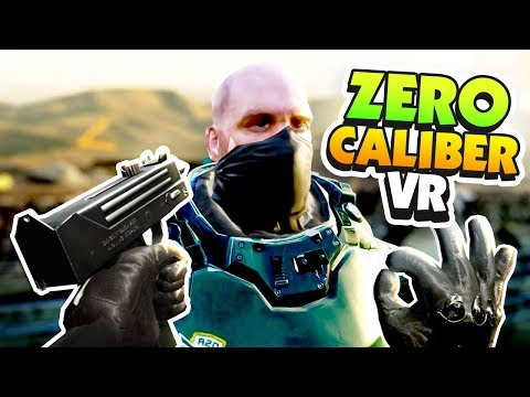 BEING AN IDIOT IN THE ARMY - Zero Caliber VR Gameplay (DEMO
