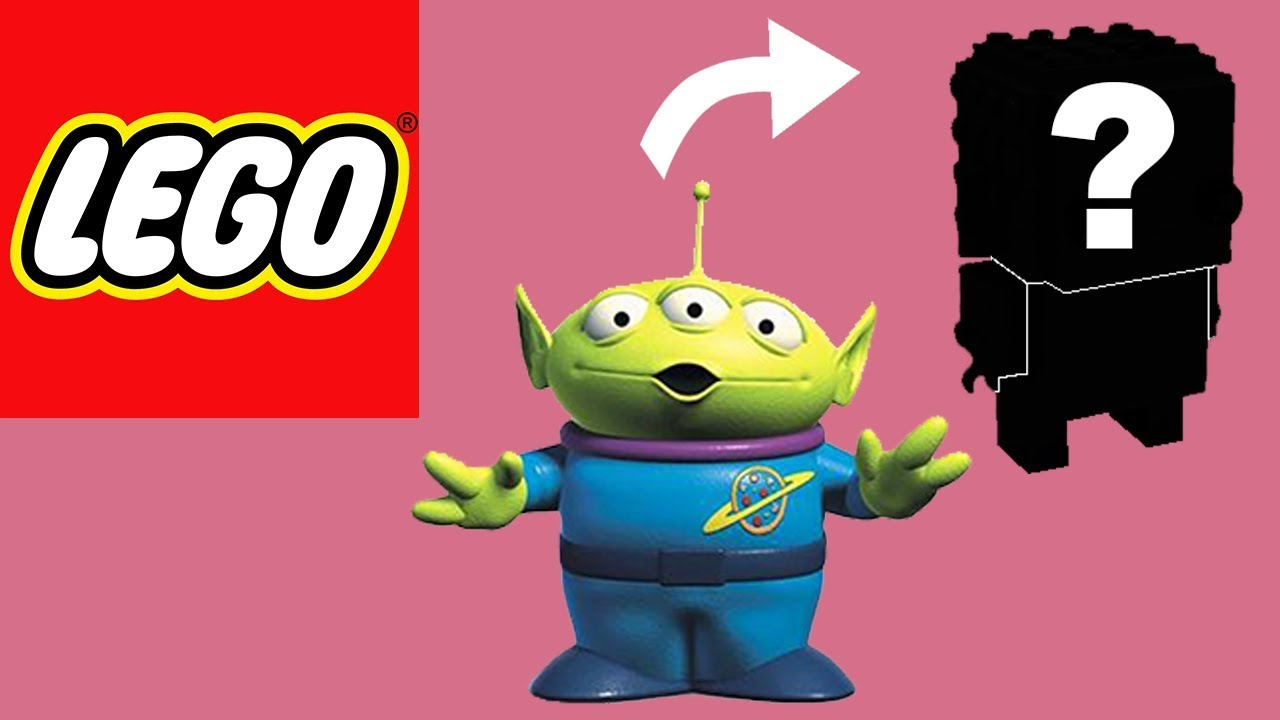 How to Build LEGO Toy Story Aliens | Brickheadz