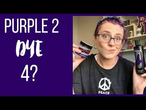 Purple Hair Color | Manic Panic or Arctic Fox 🍇